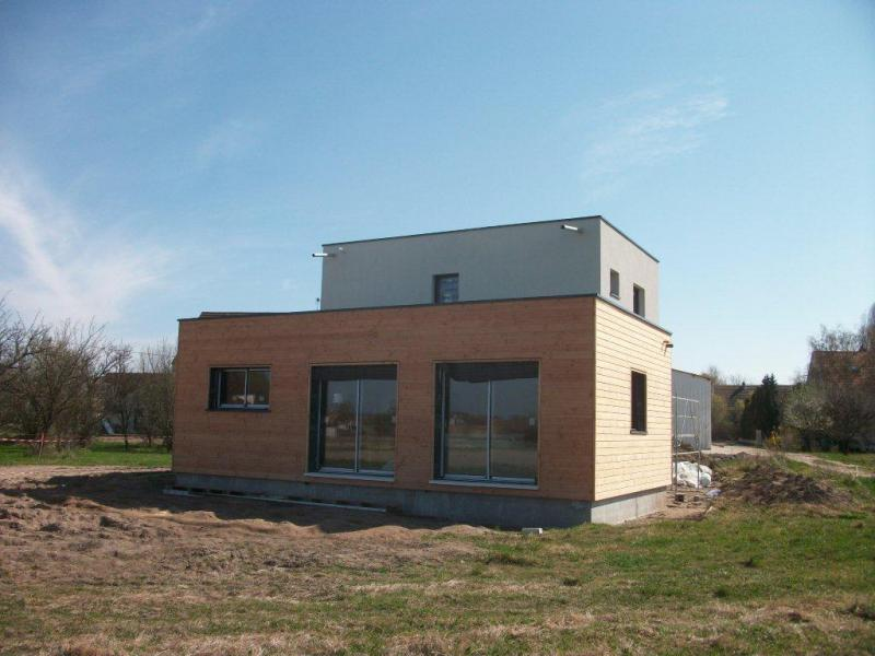Mo2b conception et construction de maisons ossature for Enduit exterieur maison contemporaine